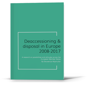 Report Possibilities and attitudes in deaccessioning and disposal in Europe 2008-2017.